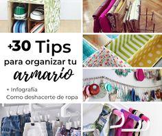 No Solo DIY: +30 Trucos para colocar tu armario