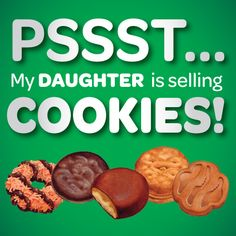pst my daughter is selling cookies images | SOCIAL MEDIA IMAGES