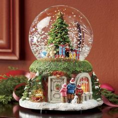 Lighted Christmas Musical Snow Globe