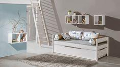 Praktyczne rozwiązanie do pokoju dziecięcego. Decoration, Bench, Storage, Furniture, Home Decor, Atelier, Child Room, House, Mockup
