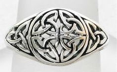 Intricate Irish Celtic Triquetra / Trinity by 925silvertreasures, $29.99