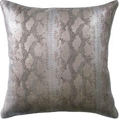 Serpent Pillow || www.summerhousestyle.com