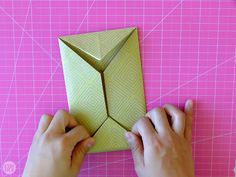 We didn't just hand these letters to each other willy nilly, we found creative ways to fold them up. Learn how to fold a letter into a pull tab note! Origami Letter Fold, Letter Folding, I Tried, Crafts For Kids, Notes, Letters, Creative, Diy, Crafts For Children