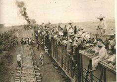 Both Federal and revolutionary armies made good use of 9,000 miles of railroad tracks laid during the Diaz years. Trains were often used as weapons themselves, packed with explosives and sent off as rolling torpedoes to destroy enemy trains and positions.