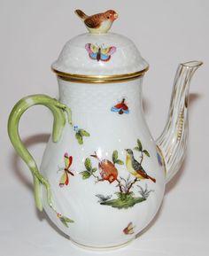 Herend Porcelain ... Rothchild Birds
