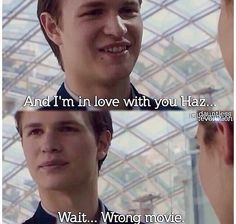 Ansel Elgort and Shailene Woodley are so cute