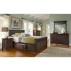 Arts & Crafts Dark Chest | American Signature Furniture | Ideas ...