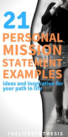 Personal mission statement examples from people who've left serious impact on the world. How to create your own personal mission statement examples. Finding Purpose In Life, Purpose Driven Life, Personal Development Books, Self Development, Mission Statement Examples, Mission Statement Personal, Career Goal Statement, Vision Statement, Purpose Statement