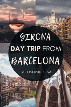 Looking for how to take a day trip from Barcelona to Girona by guided tour, train, or car? Here's your ultimate guide to one day in Girona, as well as insider tips and what to know before you go!