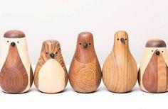 Re-turned birds | Designer: Lars Beller - http://www.beller.no/re_turned