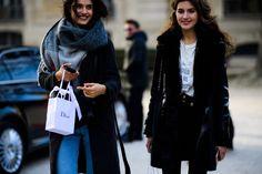 Le 21ème / Blanca Padilla + Valery Kaufman | Paris // #Fashion, #FashionBlog, #FashionBlogger, #Ootd, #OutfitOfTheDay, #StreetStyle, #Style