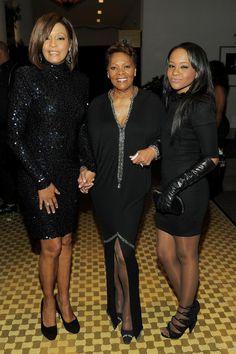 Whitney Houston, Dionne Warwick and Bobbi Kristina Brown