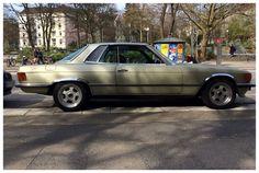 Mercedes 450 SLC à Hambourg