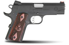 1911 Range Officer® Compact Model  9mm    .45ACP         If you want a competition grade 1911 that conceals better than a full-sized pistol, the Range Officer® Compact from Springfield Armory® offers finely tuned performance in a smaller package. The Range Officer® Compact brings the precision of a competition pistol in a small and straightforward configuration.