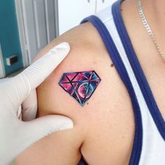 Diamond AB #tattoo #tatuaje #diamante #diamond #galaxy #planet #galaxia #space #ab