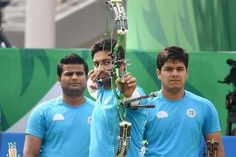 India's compound archers hit bullseye The little-known compound archery team's winning campaign at the first Asian Games to feature the discipline #AsianGames #India #Sports #Archery