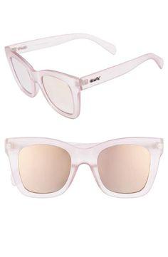 043367930b9 Quay Australia After Hours 50mm Square Sunglasses Sunglasses Shop