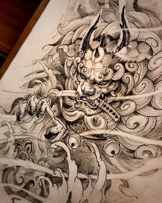 Japanese Forearm Tattoo, Japanese Tattoo Art, Japanese Tattoo Designs, Japanese Sleeve Tattoos, Wolf Tattoo Sleeve, Knee Tattoo, Tattoo Sleeve Designs, Tattoo Designs Men, Rip Tattoo