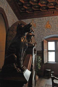 Bojnice Castle Dog Statue