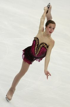 Ashley Wagner of USA competes in the Ladies Free Skating during of the ISU Grand Prix of Figure Skating 2010/2011 Cup of Russia at Megasport Sport Palace on November 20, 2010 in Moscow, Russia.