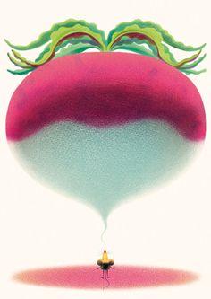 "Illustrations from ""The enormous turnip"", Agaworld Publishing Illustrators, Watermelon, Behance, Graphic Design, Artist, Painting, Corner, Layout, Animation"
