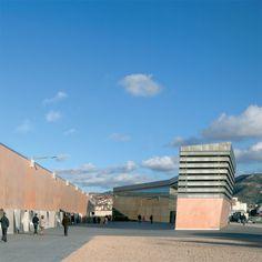 Guillermo Vázquez Consuegra. Museo Nacional de Arqueología Marítima en Cartagena, España. Fotografía: Duccio Malagamba.   #tc_arquitectura #architecture_publication #spanish_architects