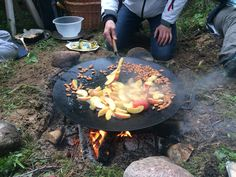 There is something very special about outdoor cooking