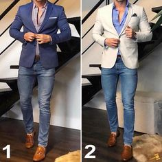 Best Business Casual Outfits Ideas - Fashionable - Source by OutfitsandDressesx fashion classy Blazer Outfits Men, Mens Fashion Blazer, Mode Masculine, Best Business Casual Outfits, Business Suits, Men's Business Fashion, Stylish Men, Men Casual, Mens Casual Blazers
