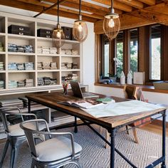 Mill Valley Studio - eclectic - home office - san francisco - Jute Interior Design