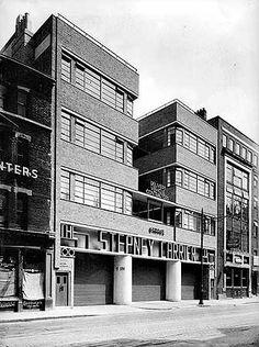 Stepney Carrier Company Ltd, 94-100 St John Street, Islington, London c 1935. H Felton via English Heritage