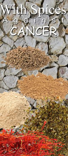 It has been scientifically proven that this six spices have clearly expressed anti -cancer effects.