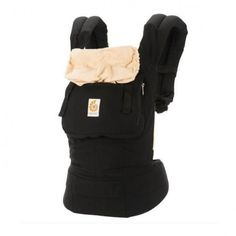 CANGURU - ORIGINAL COLLECTION - BLACK/CAMEL - ERGOBABY