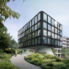Herzog & de Meuron plans Helvetia office extension in St Gallen