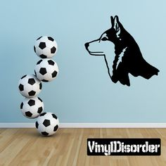 Wolf Wolves Wall Decal - Vinyl Decal - Car Decal - 003