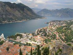 Teluk Kotor, Montenegro
