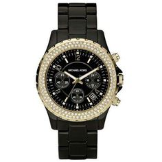 I already have a gold watch so black would be cute.