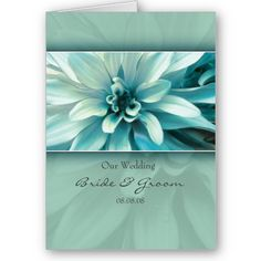 Tiffany blue floral  #wedding invitations & stationery ... Wedding ideas for brides, grooms, parents & planners ... https://itunes.apple.com/us/app/the-gold-wedding-planner/id498112599?ls=1=8 … plus how to organise an entire wedding ♥ The Gold Wedding Planner iPhone App ♥