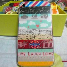 My washi-fied phone:)