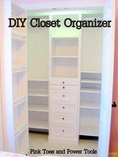 I absolutely love big, well organized closet. I just love Ana White.