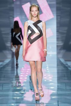 Women Fashion Show Collection – SS 2015 – Versace