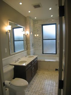 LM Designs Certified Bathroom Designer Design Renovation Condo Small Guest Shower Niches Spray