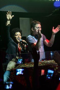 Bruno Mars na boate TAO