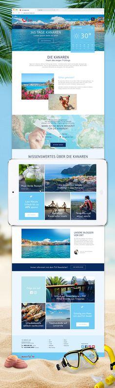 Kreation und Umsetzung einer SEO-fokussierten Landingpage und Promotion für die Kanaren als ganzjähriges Reiseziel. Social Media Plattformen, Marketing, Interesting Facts, Psychics, Destinations, Rezepte