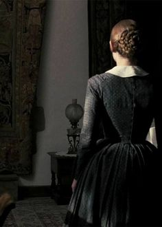 Jane Eyre Film 2011. Love this still - it reminds me of the art of Wilhelm Hammershøi