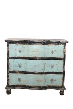 Piccadilly Chest of Drawers by Decorative Leather Books on @HauteLook Piccadilly 3 draw dresser in distressed and hand finished Indian rosewood with nicks and imperfections enhancing its one of a kind characte
