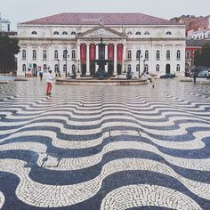 Rossio Square, Portugal, photo by callicles on Instagram #travel #architecture Portugal Travel, Lisbon Portugal, Instagram Travel, Instagram Posts, Nostalgic Pictures, Our Town, Algarve, Adventure Is Out There, Squares