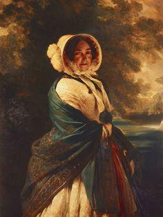 The Duchess of Kent (mother of Queen Victoria), by Winterhalter, 1849