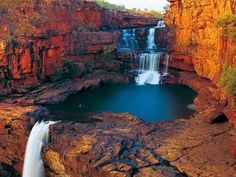 Breathtaking views of WA wild frontier | Herald Sun Western Australia, Australia Travel, Mitchell Falls, Voyager Loin, Les Cascades, Beautiful Waterfalls, Paradis, Landscape Photographers, Nice View