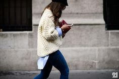 Cable Knit Sweater: La Prenda Para El Otoño