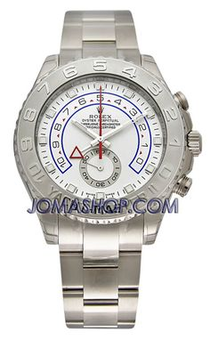 Rolex Yachtmaster II White Arabic Dial Oyster Bracelet 18k White Gold and Paltinum Mens Watch 116689WAO $38,520